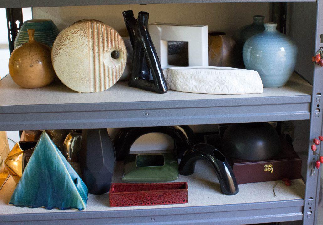 Nageire ikebana containers